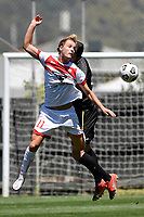 Alexander Greive of Waitakere United during the ISPS Handa Men's Premiership - Team Wellington v Waitakere Utd at David Farrington Park,Wellington on Saturday 30 January 2021.<br /> Copyright photo: Masanori Udagawa /  www.photosport.nz