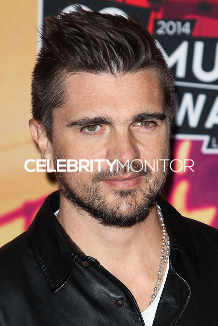 LOS ANGELES, CA, USA - MAY 01: Juanes, Juan Vasquez in the press room at the iHeartRadio Music Awards 2014 held at The Shrine Auditorium on May 1, 2014 in Los Angeles, California, United States. (Photo by Celebrity Monitor)
