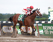Havre de Grace coasts to victory in the Beldame Stakes at Belmont Park on 10/1/11.