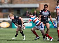 James Cunningham during the Kingstone Press Championship match between London Broncos and Rochdale Hornets at Castle Bar , West Ealing , England  on 26 March 2017. Photo by Steve Ball / PRiME Media Images.
