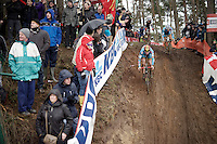 Thijs Aerts (BEL/Telenet Fidea) & Quinten Hermans (BEL/Telenet-Fidea)<br /> <br /> U23 men's race<br /> <br /> UCI 2016 cyclocross World Championships / Zolder, Belgium
