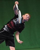 20131201,Netherlands, Almere,  National Tennis Center, Tennis, Winter Youth Circuit, Zachary Eisenga  <br /> Photo: Henk Koster