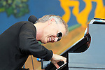 NEW ORLEANS, LA - MAY 04: Musician Bruce Hornsby performs during the 2012 New Orleans Jazz & Heritage Festival at the Fair Grounds Race Course on May 4, 2012 in New Orleans, Louisiana.