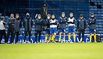 Rangers v St Johnstone…25.04.21   Ibrox.  Scottish Cup<br />Callum Davidson and the bench watch the panelty kicks<br />Picture by Graeme Hart.<br />Copyright Perthshire Picture Agency<br />Tel: 01738 623350  Mobile: 07990 594431