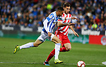 Leganes CD's Youssef En-Nesyri and Girona FC's Pedro Alcala during La Liga match. March 16, 2019. (ALTERPHOTOS/Manu R.B.)