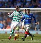 12.05.2019 Rangers v Celtic: Oliver Burke and Ryan Kent
