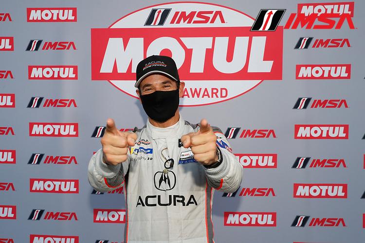 DPI Motul Pole award winner #7 Acura Team Penske Acura DPi, DPi: Helio Castroneves