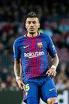 Jose Paulo Bezerra Maciel Junior, Paulinho, of FC Barcelona reacts during the La Liga 2017-18 match between FC Barcelona and Levante UD at Camp Nou on 07 January 2018 in Barcelona, Spain. Photo by Vicens Gimenez / Power Sport Images