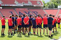 SANDY, UT - JUNE 8: USMNT during a training session at Rio Tinto Stadium on June 8, 2021 in Sandy, Utah.