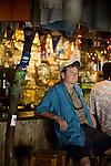 Bob Friel.Foxy's Tamarind Bar, Jost van Dyke .British Virgin Islands. Photos of writer and photographer Bob Friel
