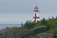 East Quoddy Head Lighthouse on Campobello Island, New Brunswick, Canada