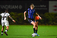Brugge's Marie Minnaert pictured during a female soccer game between Sporting Charleroi and Club Brugge YLA on the fourth matchday of the 2020 - 2021 season of Belgian Scooore Womens Super League , friday 9 nd of October 2020  in Marcinelle , Belgium . PHOTO SPORTPIX.BE | SPP | DAVID CATRY