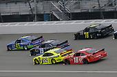 #22: Paul Menard, Team Penske, Ford Mustang Menards/Richmond #18: Kyle Busch, Joe Gibbs Racing, Toyota Camry Maltesers