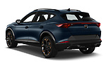 Car pictures of rear three quarter view of 2021 Cupra Formentor - 5 Door SUV Angular Rear