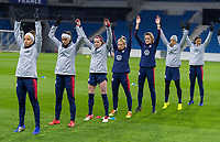 La Harve, France - January 18, 2019:  The USWNT trains in preparation for a friendly against France at Stade Oceane.