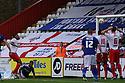 Darius Charles of Stevenage scores their first goal<br />  Stevenage v Oldham Athletic - Sky Bet League 1 - Lamex Stadium, Stevenage - 3rd August, 2013<br />  © Kevin Coleman 2013