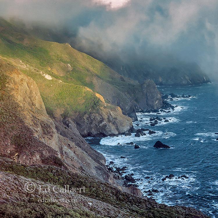 Coastal Fog, Pirates Cove, Golden Gate National Recreation Area, Marin County, California