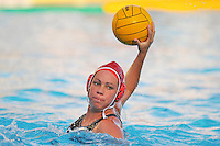 10 May 2008:  Stanford Cardinal Koree Blyleven (10) during the semi-final match of the 2008 NCAA women's water polo championships at the Avery Aquatic Center in Stanford, CA.  USC defeated Stanford 10-6, to move on to the championship match against UCLA.