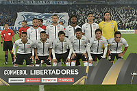 BOGOTA - COLOMBIA, 28-02-2018: Jugadores de Corinthians posan para una foto previo al partido entre Millonarios de Colombia y Corinthians de Brasil por la fecha 1, grupo 7, de la CONMEBOL Libertadores 2018 jugado en el estadio Nemesio Camacho El Campin de la ciudad de Bogotá. / Players of Corinthians pose to a photo prior the match between Millonarios of Colombia and Corinthians of Brazil for the date 1, group 7, of the CONMEBOL Libertadores 2018 played at Nemesio Camacho El Campin stadium in Bogota city. Photo: VizzorImage / Gabriel Aponte / Staff.
