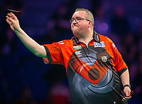 12th March 2020; M and S Bank Arena, Liverpool, Merseyside, England; Professional Darts Corporation, Unibet Premier League Liverpool; Stephen Bunting during his night six match against Rob Cross