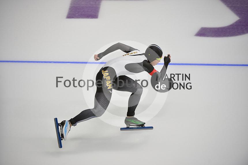 OLYMPIC GAMES: PYEONGCHANG: 14-02-2018, Gangneung Oval, Long Track, 1000m Ladies, Nao Kodaira (JPN), ©photo Martin de Jong