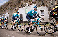 Jakob Fuglsang (DEN/Astana - Premier Tech)<br /> <br /> 55th Amstel Gold Race 2021 (1.UWT)<br /> 1 day race from Valkenburg to Berg en Terblijt; raced on closed circuit (NED/217km)<br /> <br /> ©kramon