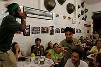 Bar do mineiro, Santa Teresa quarter, Rio de Janeiro, Brazil. Carioca´s lifestyle.