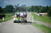 moving to the front again (with a little help)<br /> <br /> Eneco Tour 2013<br /> stage 3: Oosterhout - Brouwersdam (187km)