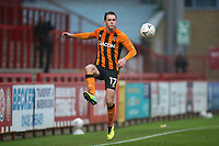 Sean McLoughlin of Hull City during Stevenage vs Hull City, Emirates FA Cup Football at the Lamex Stadium on 29th November 2020