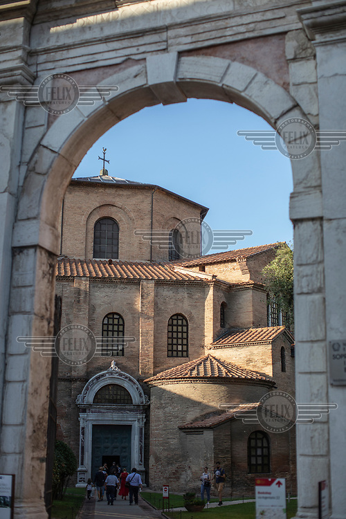 Basilica di San Vitale.