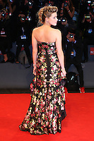 Amber Heard attends the red carpet for the premiere of the movie 'The Danish Girl' during 72nd Venice Film Festival at Palazzo Del Cinema in Venice, Italy, September 5.<br /> UPDATE IMAGES PRESS/Stephen Richie