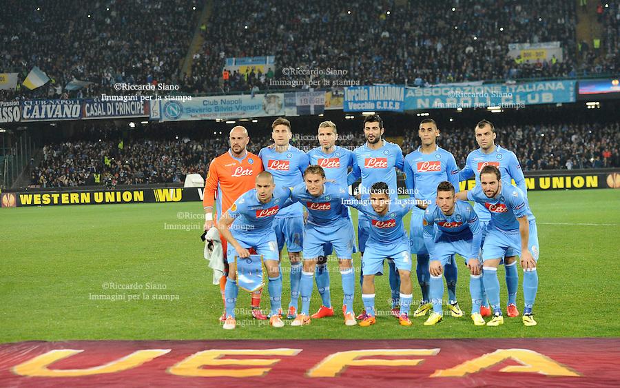 - NAPOLI 20 MAR - Calcio Europa League Stadio San Paolo.    Napoli - Porto ritorno   ottavi di filale di Europa League. Nella foto