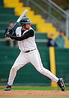 2 May 2008: University of Vermont Catamounts' outfielder Ethan Paquette, a Sophomore from West Burke, VT, at bat against the Binghamton University Bearcats at Historic Centennial Field in Burlington, Vermont. The Catamounts defeated the Bearcats 6-2 in the first game of their weekend series...Mandatory Photo Credit: Ed Wolfstein Photo