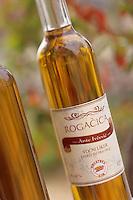 Europe/Croatie/Dalmatie/ Ile de Vis/ Komiza: Bouteille de vin d' Ante Ivcevic viticulteur
