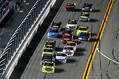 2017 Camping World Truck - NextEra Energy Resources 250<br /> Daytona International Speedway, Daytona Beach, FL USA<br /> Friday 24 February 2017<br /> Matt Crafton, Ben Rhodes and Johnny Sauter<br /> World Copyright: Russell LaBounty/LAT Images<br /> ref: Digital Image 17DAY2rl_04624