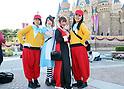Halloween parade at Tokyo Disneyland