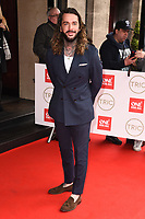 Pete Wicks<br /> arriving for theTRIC Awards 2020 at the Grosvenor House Hotel, London.<br /> <br /> ©Ash Knotek  D3561 10/03/2020