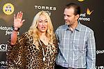 Jennifer Blanc Biehn and Michael Biehn during the red carpet of the opening ceremony of the Festival de Cine Fantastico de Sitges in Barcelona. October 07, Spain. 2016. (ALTERPHOTOS/BorjaB.Hojas)