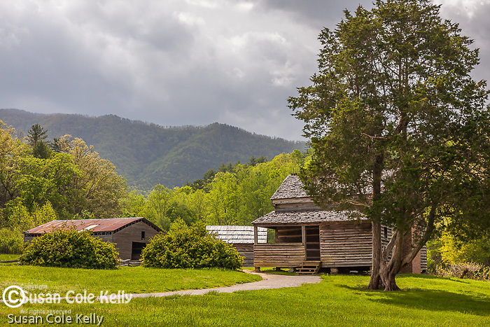 The Dan Lawson place in Cades Cove, Great Smoky Mountains National Park, TN, USA