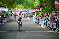 race winner Sanne Cant (BEL/Ciclismo Mundial)<br /> <br /> GP Neerpelt 2014