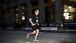 Peter Grauer runs at the Bloomberg Square Mile Relay at the Seaport District in New York, USA. Photo by Juan Manuel Serrano / Power Sport Images