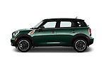 Car Driver side profile view of a 2016 MINI Countryman Countryman 5 Door Hatchback Side View