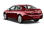 Car pictures of rear three quarter view of 2017 Buick Verano Leather 4 Door Sedan Angular Rear