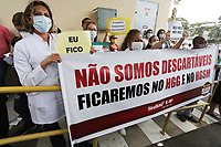 10.06.2020 - Protesto de profissionais da Saúde em SP