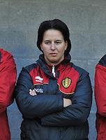 Qualification Women's Euro 2013 - Belgium - Iceland ; Belgie - Ijsland ; Armand Melis Stadion Dessel :.Tamara Cassimon.foto DAVID CATRY / Vrouwenteam.be
