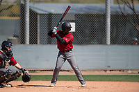 Arizona Diamondbacks shortstop Keshawn Lynch (7) at bat during a Minor League Spring Training intrasquad game at Salt River Fields at Talking Stick on March 12, 2018 in Scottsdale, Arizona. (Zachary Lucy/Four Seam Images)