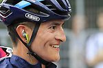 Winner Anacona (COL) Movistar Team at the end of the 99th edition of Milan-Turin 2018, running 200km from Magenta Milan to Superga Basilica Turin, Italy. 10th October 2018.<br /> Picture: Eoin Clarke | Cyclefile<br /> <br /> <br /> All photos usage must carry mandatory copyright credit (© Cyclefile | Eoin Clarke)