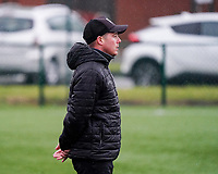 Essevee's head coach Angelo Gaytant pictured during a female soccer game between the women teams of Zulte Waregem A Dames and KRC Genk Ladies B on the 1/16 th qualifying round for the Belgian Womens Cup 2020  2021 , on saturday 26 th of September 2020  in Zulte , Belgium . PHOTO SPORTPIX.BE | SPP | SEVIL OKTEM