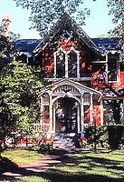 Riverside: Victorian Gothic House.  Photo '78.