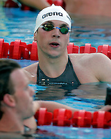 Germany's Paul Biedermann reacts after winning in a men's 200 meters freestyle semifinal at the Swimming World Championships in Rome, 27 July 2009..UPDATE IMAGES PRESS/Riccardo De Luca